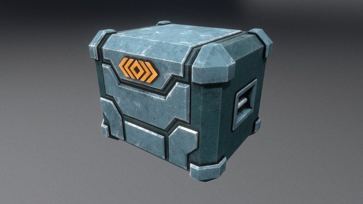 Loot Box (Animated) 3D Model