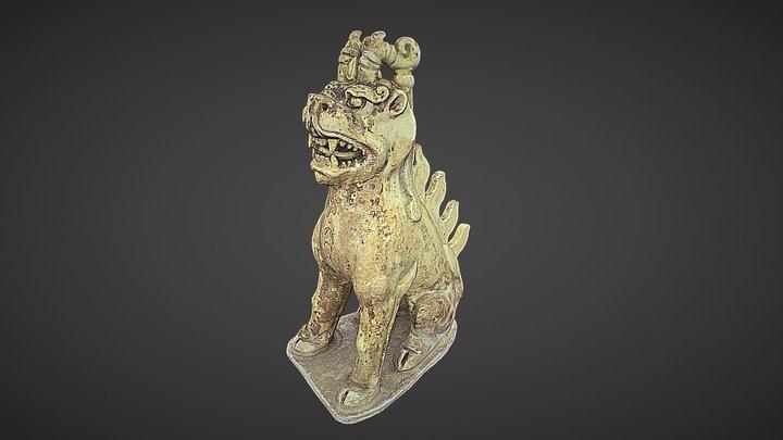 Tang Dynasty Tomb Guardian (Zhenmushou) 3D Model