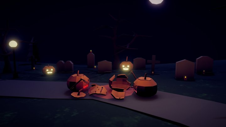 Tasty pumpkin 3D Model