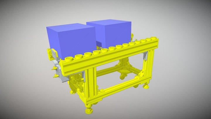 Förderer mit Rücklaufsperre 3D Model