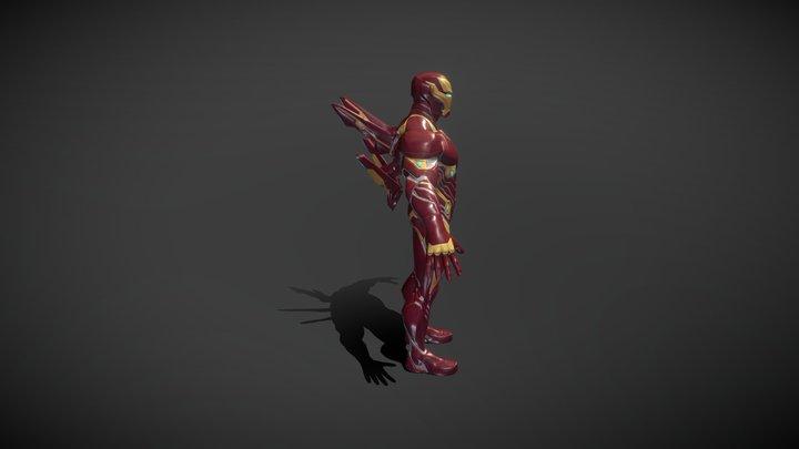 Iron Man Bleeding Edge 3D Model