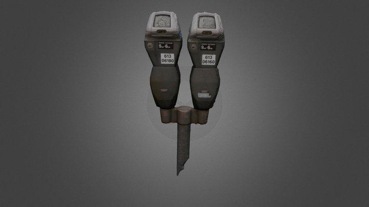 Parking Meters 3D Model