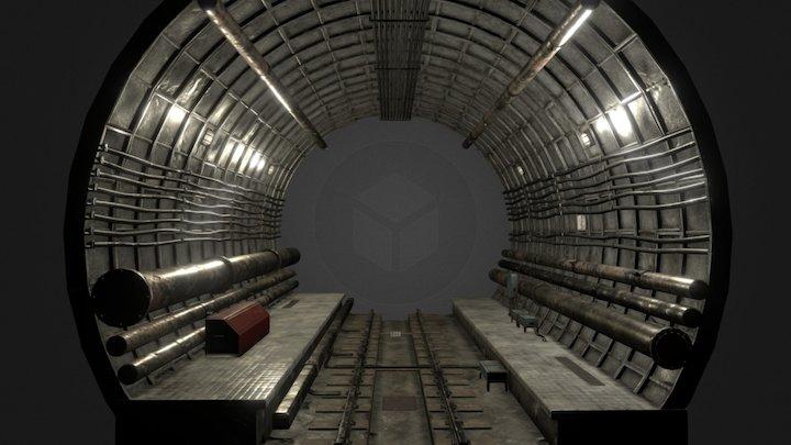 metro tube 3D Model