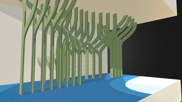 AvB-zeewier 3D Model