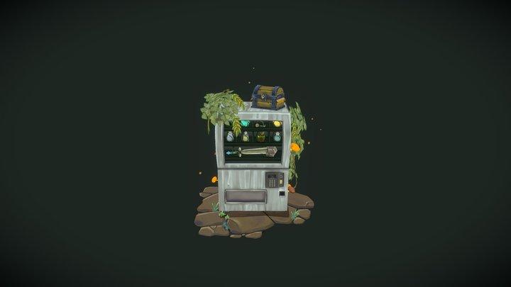 RPG Vending Machine 3D Model