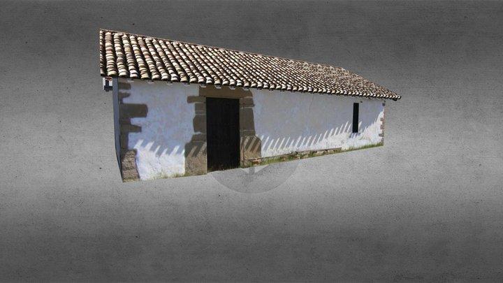 Ermita de Santa Barbara 3D Model