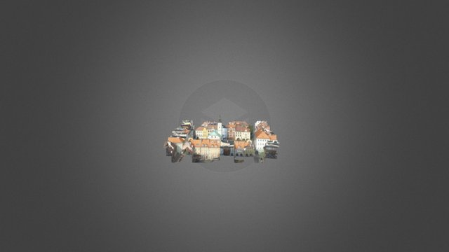 Gliwice Rynek Simplified 3d Mesh 3D Model