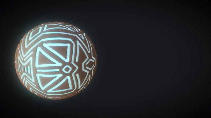 Mystical Orb Sculpt 3D Model
