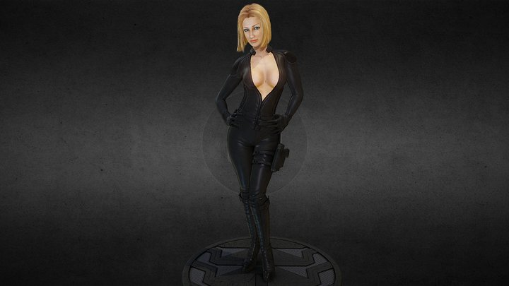 Anna Character 3D Model