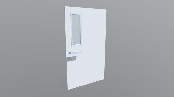 Hospital Door 3D Model