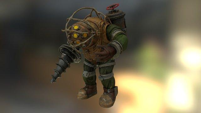 BioShock - Big Daddy 3D Model