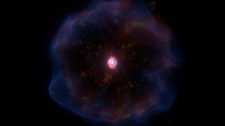 Supernova 3D Model