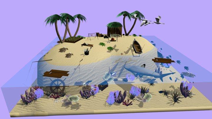 Island Story 3D Model