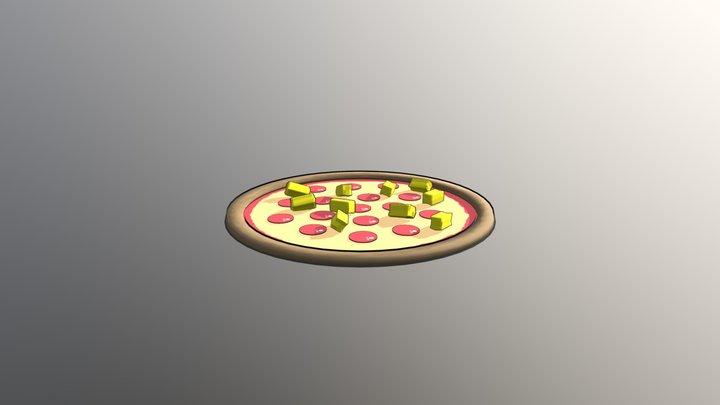 Pizza Time 3D Model