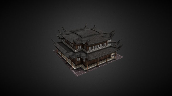 Shrine_Individual_Export 3D Model