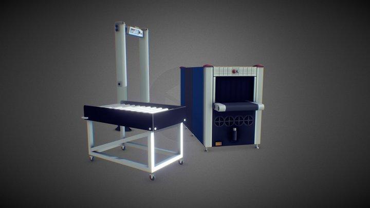 TSA Equipment 3D Model