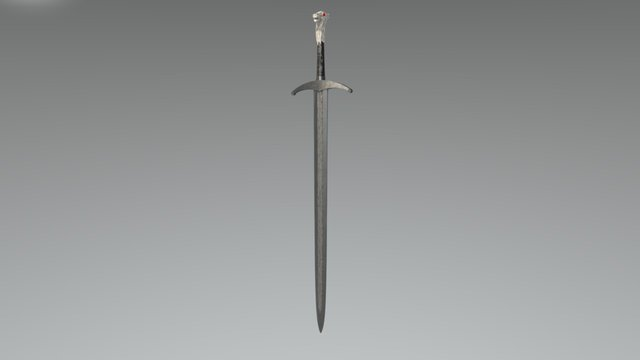 Game of Thrones - Jon Snow's Longclaw 3D Model