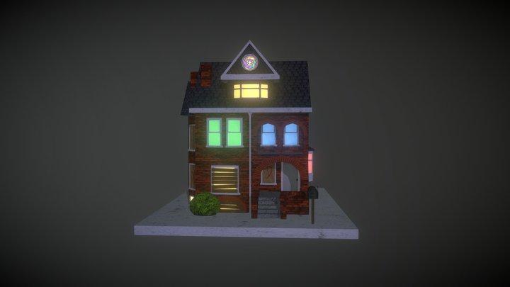 The Spirit House 3D Model