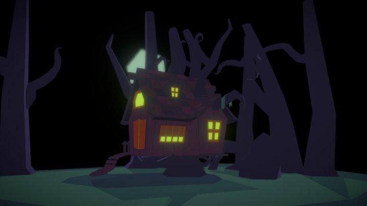 Spooky Swamp 3D Model