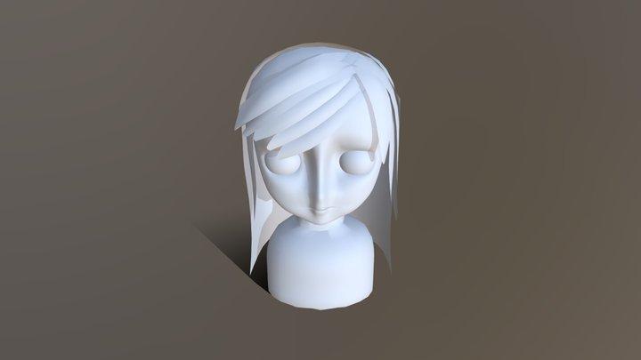 Girl Anime Modeling 3D Model