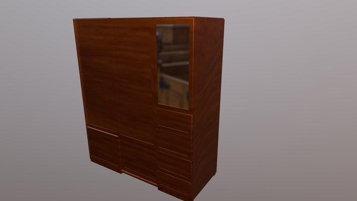 Ropero moderno 3D Model