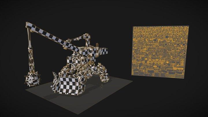 TeamWork_LP 3D Model