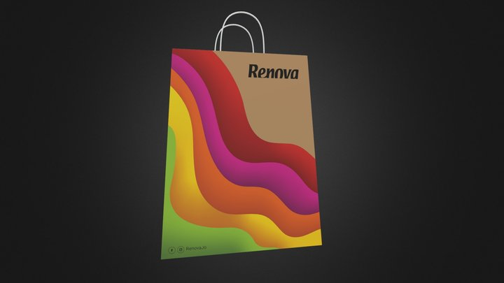 Renova Shopping Bag 3D Model