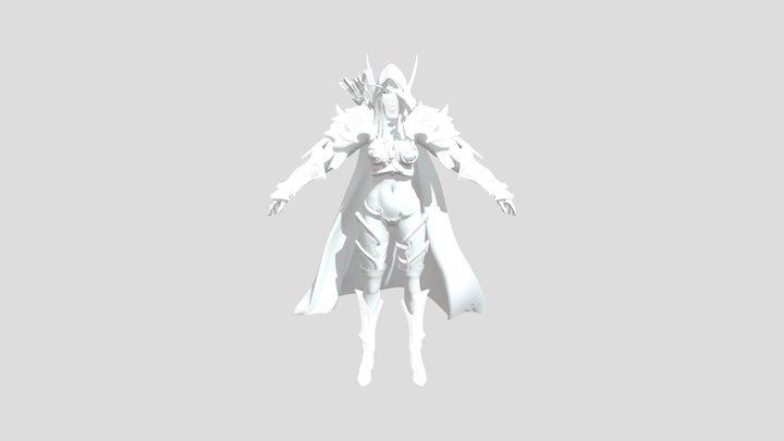 Sylvanas 3D Model