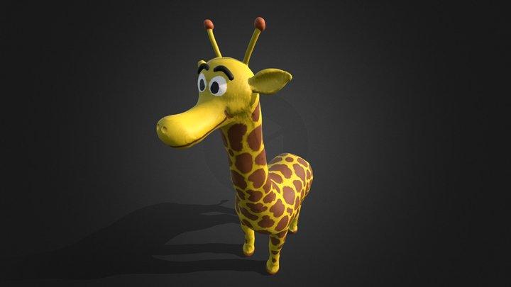 Gyry la giraffa 3D Model
