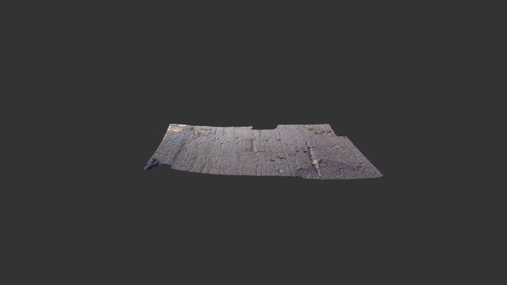 Rock 362 (detail 2, 2017, Sigma) 3D Model