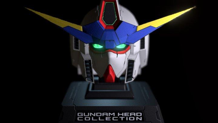 Gundam Head 3D Model