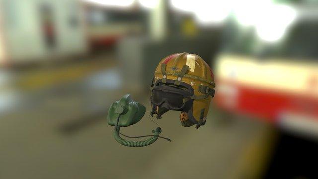 GAP Exam: Helmet & Mask 3D Model