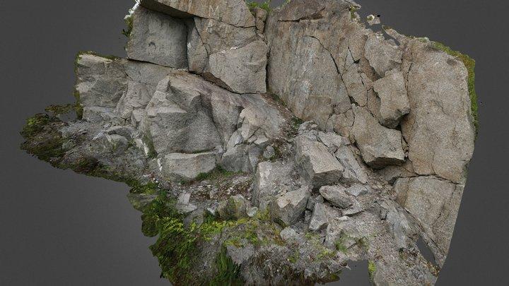 SMB-granodiorite Dunbrack St 3D Model
