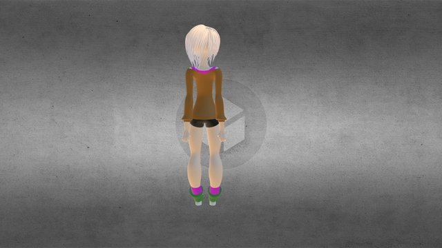 Animation Wip 3D Model