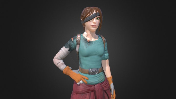Cora Fey 3D Model