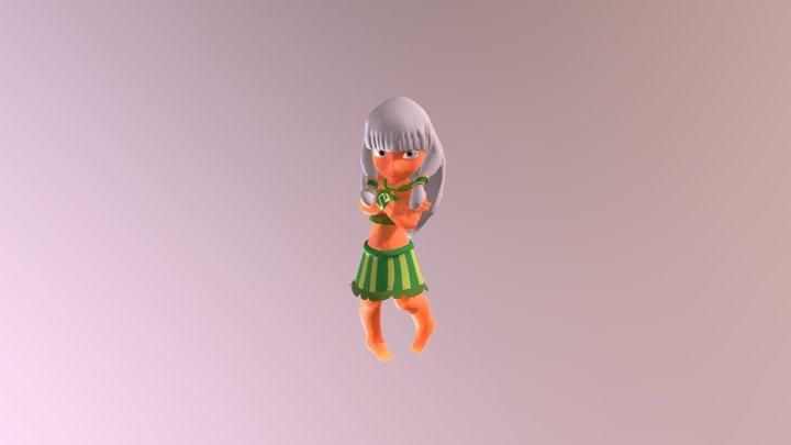 3D fanart of Mandi 3D Model