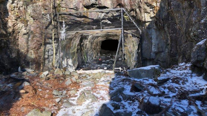Cave in WW1 base, Kivikko, Helsinki, Finland 3D Model