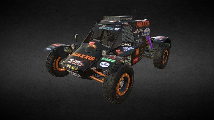 Suzuki Swift GTI Buggy - Maxxis Dakar Team 3D Model