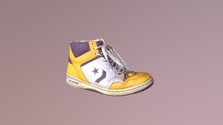 Converse - Lakers 1986 3D Model