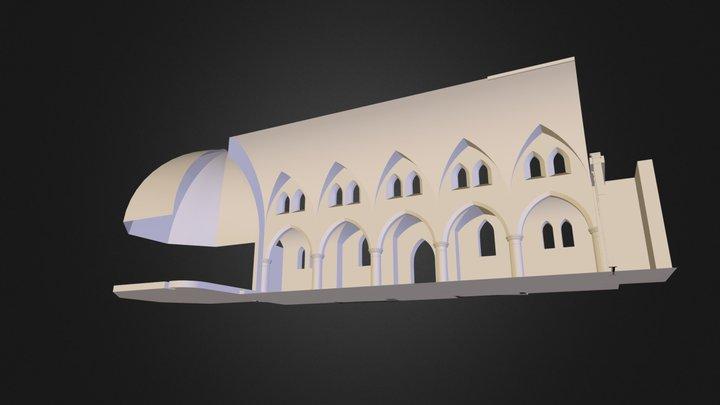 Sagrado Corazon 3D Model