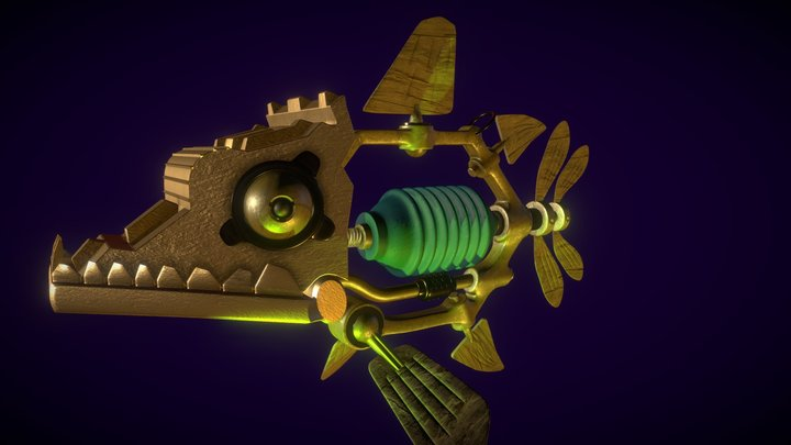 Mech-fish 3D Model