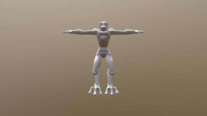 Statue Model Etherian 3D Model