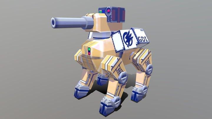 GDI Robotic Wardog (command and conquer) 3D Model