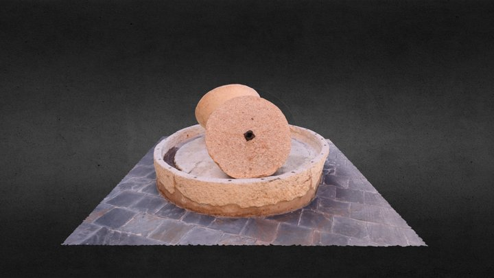 Práctica fotogrametría- Molino de Aceite 3D Model