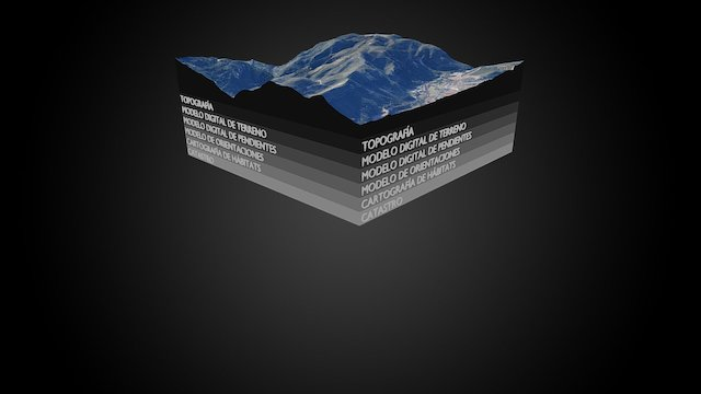 4Datum Geomatics Animation 3D Model