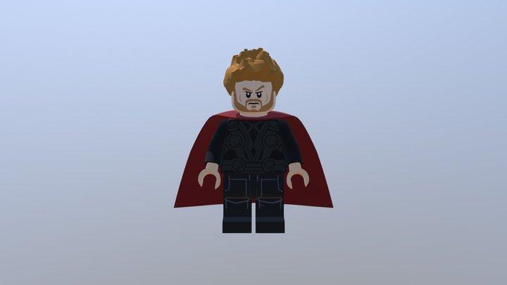 Avengers: Infinity War, Thor Odinson 3D Model