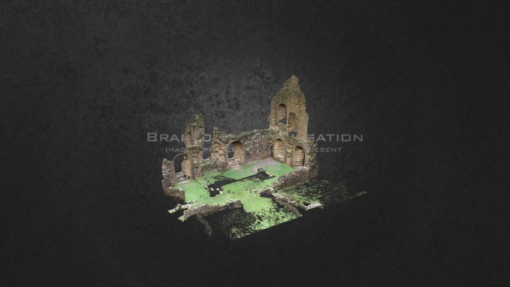 Fountains Abbey Guesthouse 3D Model