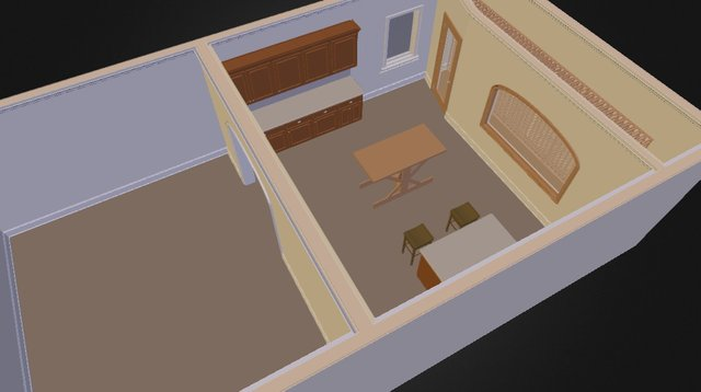 Daley 3D Model