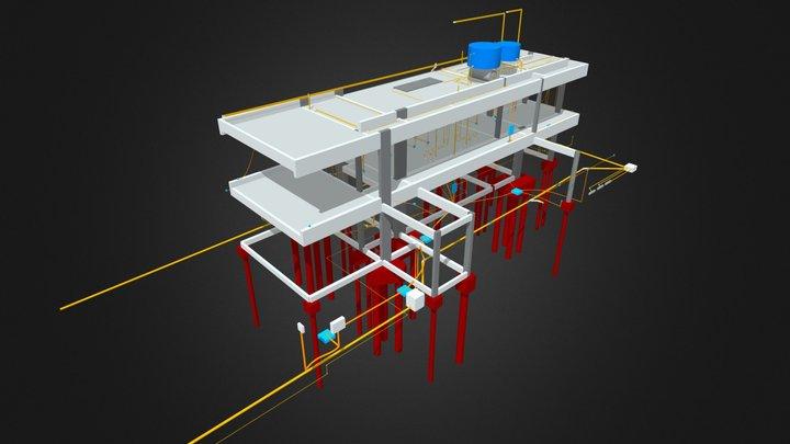 Sobrado - 288,67 m² 3D Model