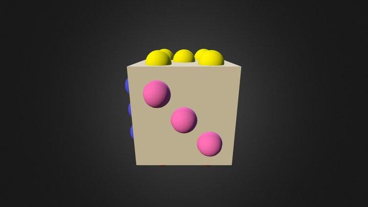 Dice2 3D Model
